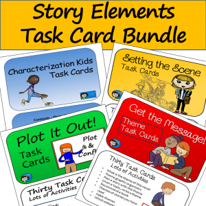 Story Elements Task Cards Package
