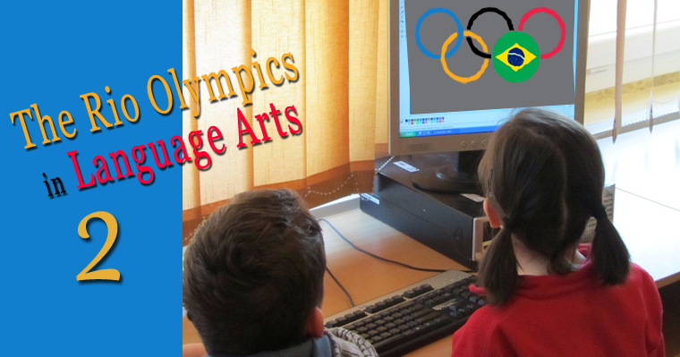 The Rio Olympics in Language Arts 2