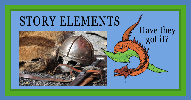 Story Elements - Discussion Questions for Informal Assessment, with Freebie