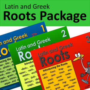 latin-and-greek-roots-package