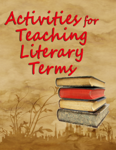 activities-for-teaching-literary-terms