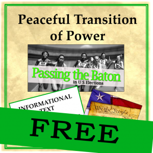 Info Text - Peaceful Transition of Power FREE