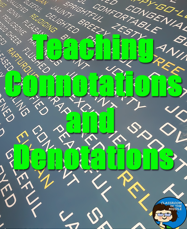 Teaching Connotations and Denotations – Connotation and Denotation Worksheets for Middle School