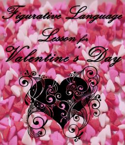 Figurative Language Lesson for Valentine'sDay pin