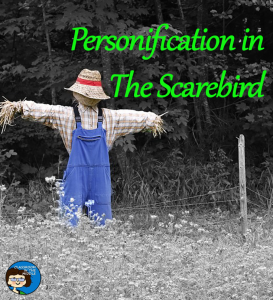 Personification in The Scarebird pin