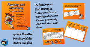 Revising and Expanding Sentences fb