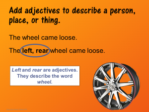 Add Adjectives