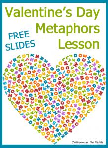 Valentine's Day Metaphors Lesson
