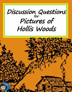 Discussion Questions for Pictures of Hollis Woods pin