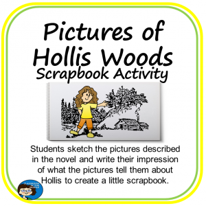 Pictures of  Hollis Woods free activity