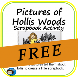 Pictures of Hollis Woods Scrapbook Activity FREE