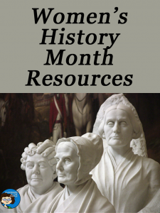 Women's History Month Resources copy