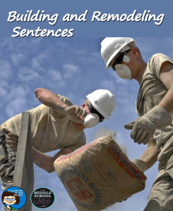 Building and Remodeling Sentences