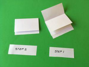 Layered Foldable - steps