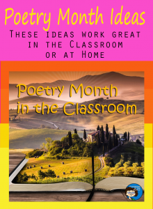 Poetry Month Ideas
