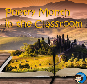 Poetry Month in the Classroom pin