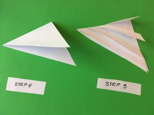 Pyramid Foldable - steps 4-5