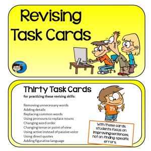 Revising Task Cards