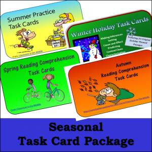 Seasons - Task Card Package