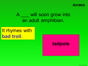Spring Word Puzzles slide 3