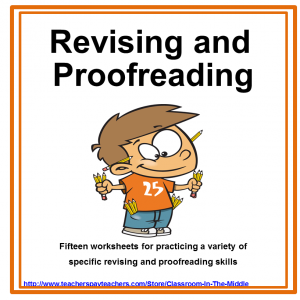 revising and Proofreading WS Set