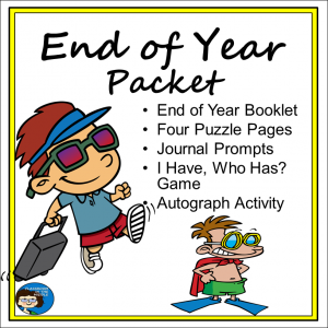End of Year Packet sq