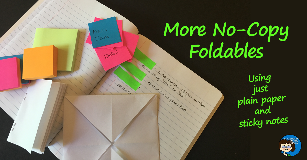 More No-Copy Foldables