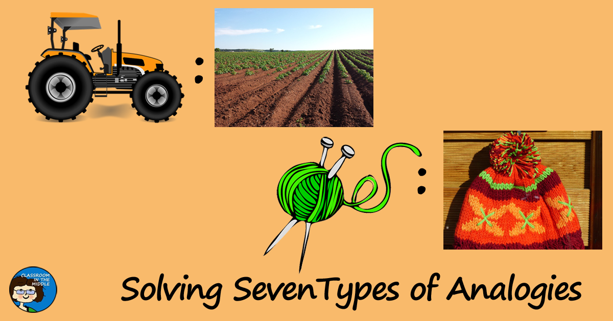 Solving Seven Types of Analogies