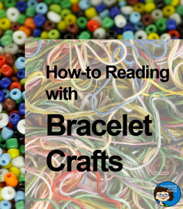 How-to Reading with Bracelet Crafts pin