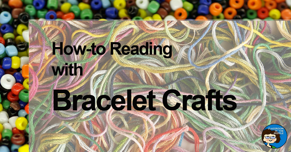 How-to Reading with Bracelet Crafts