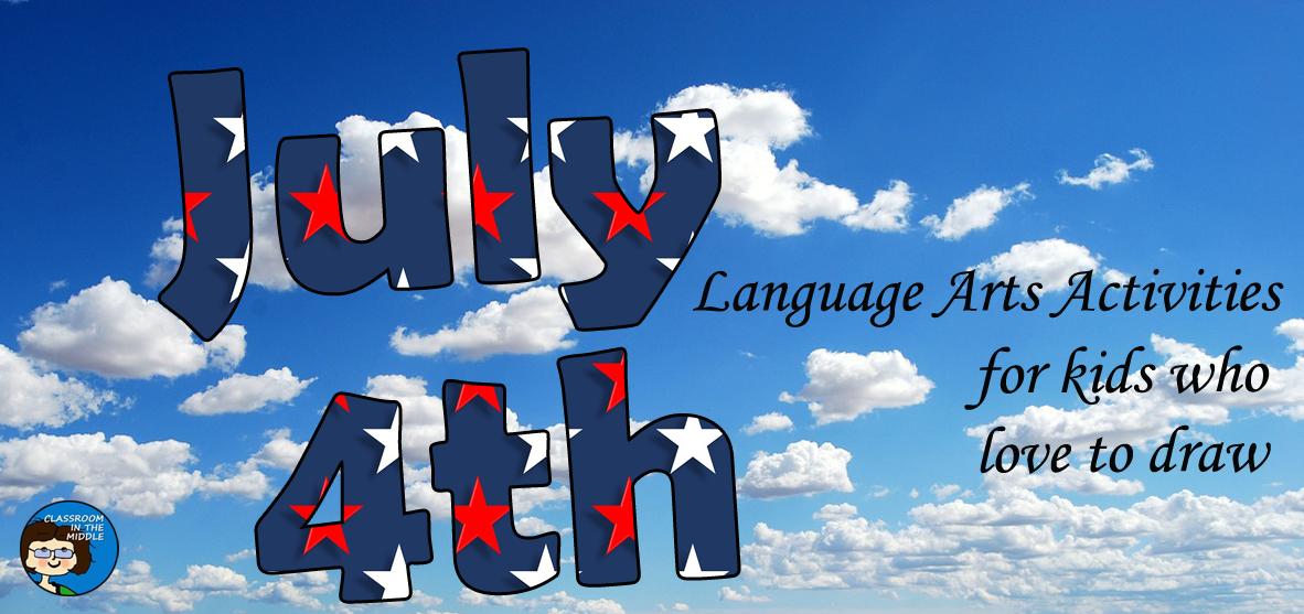 July Fourth Language Arts Activities fb