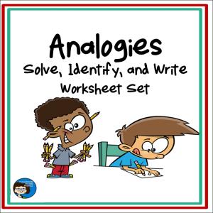 Analogies Worksheet Set