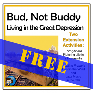 Bud Not Buddy Living in Great Depression - FREE