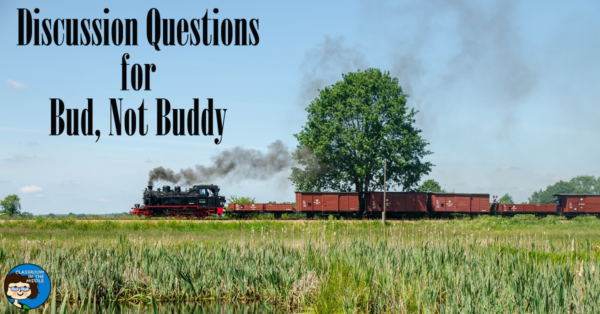 Discussion Questions for Bud, Not Buddy fb