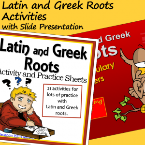 Latin and Greek Roots Package