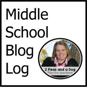 Middle School Blog Log