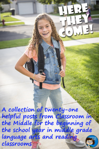 Twenty-one posts for beginning of school year pin