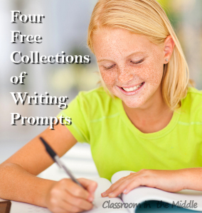 Four Free Collections of Writing Prompts