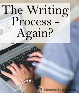 The Writing Process - Again?