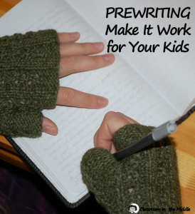 Prewriting - Make It Work for Your Kids pin