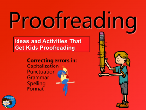 Proofreading - cover