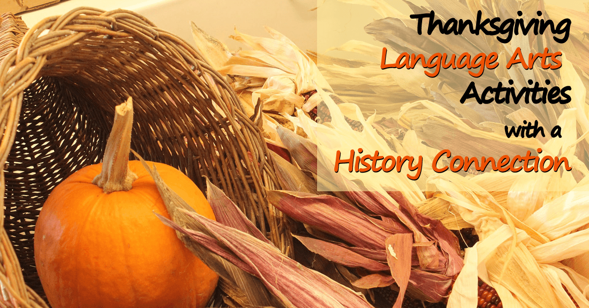 Looking for some ways to incorporate history into your Thanksgiving language arts activities? This guest post shares a variety of different suggestions to pull in that history connection while teaching language arts. Click through to get some Thanksgiving teaching ideas for middle school!