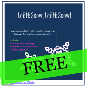 Info Text - Let It Snow, FREE