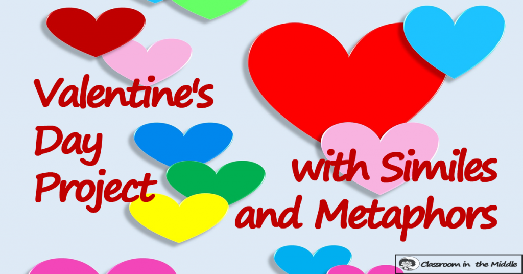 Valentine's Day Activity with similes and metaphors