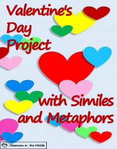 Valentine's Day Activity with Figurative Language