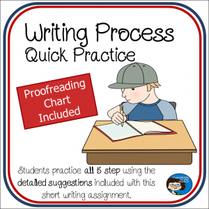 Writing Process Quick Practice sq cover