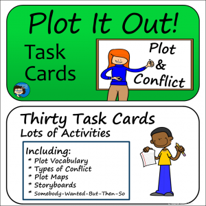 Plot task Cards cover sq