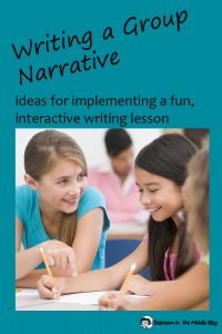 Writing a Group Narrative pin