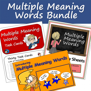 Multiple Meaning Word Package