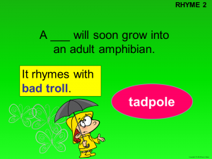rhyme word puzzle